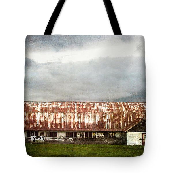 Abandoned Dairy Farm Tote Bag
