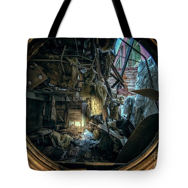 Abandoned Decay Tote Bag