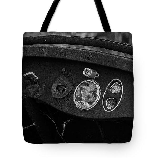Abandoned Dreams Tote Bag by Travis Burgess