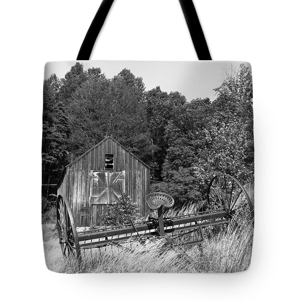 Abandoned Farm Atlantic Coast  Tote Bag