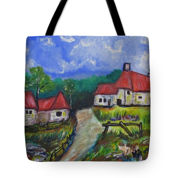 Abandoned Farm Tote Bag
