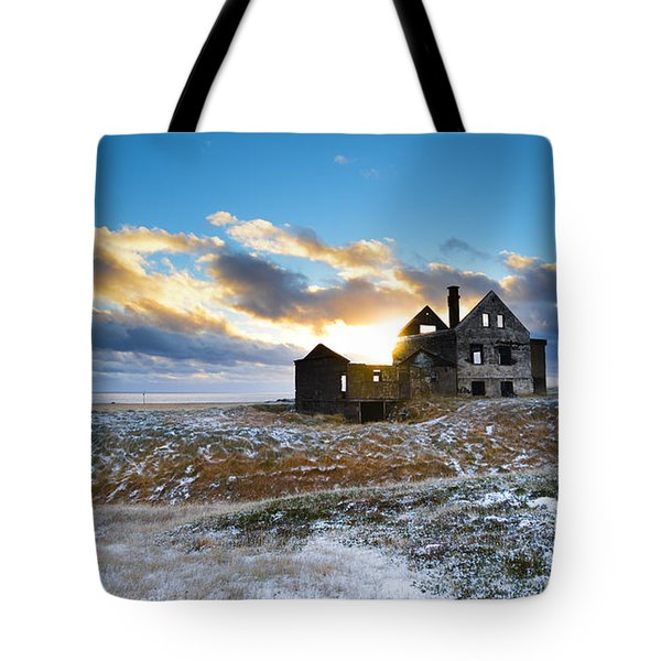 Abandoned Farm On The Snaefellsnes Peninsula Tote Bag