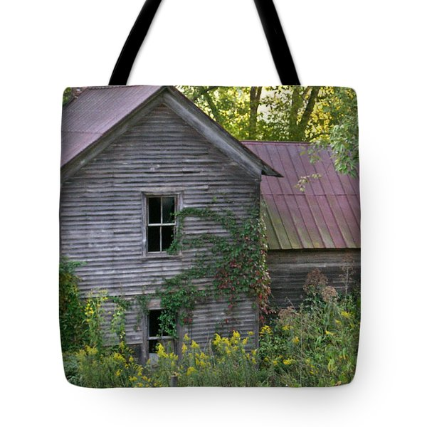 Abandoned Farmhouse On Stacy Fork Tote Bag