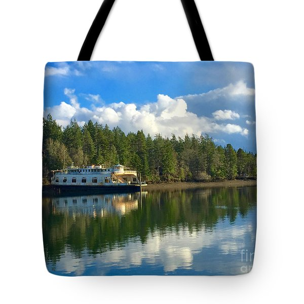 Abandoned Ferry Tote Bag