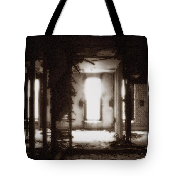 Abandoned Flophouse In Denver Tote Bag