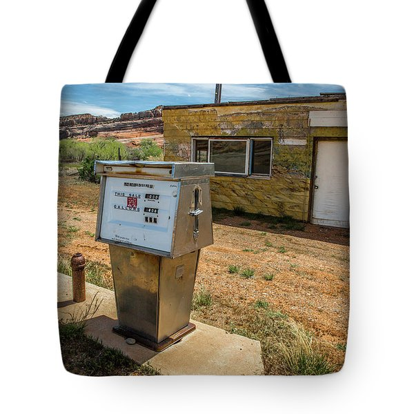 Abandoned Gas Station Tote Bag