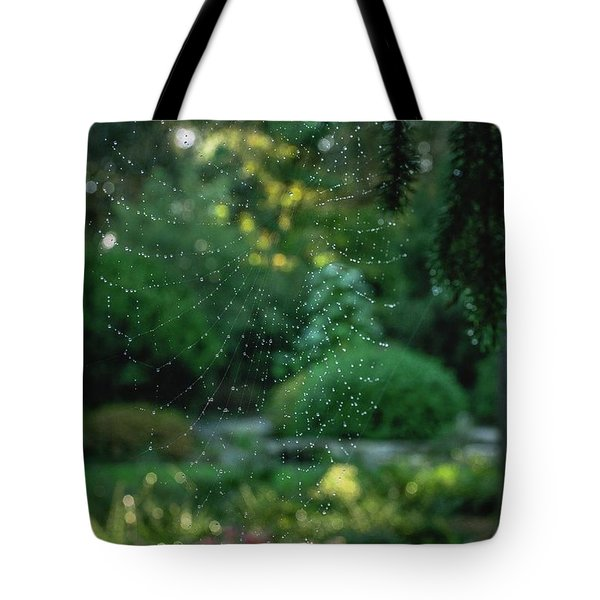 Morning Web Tote Bag