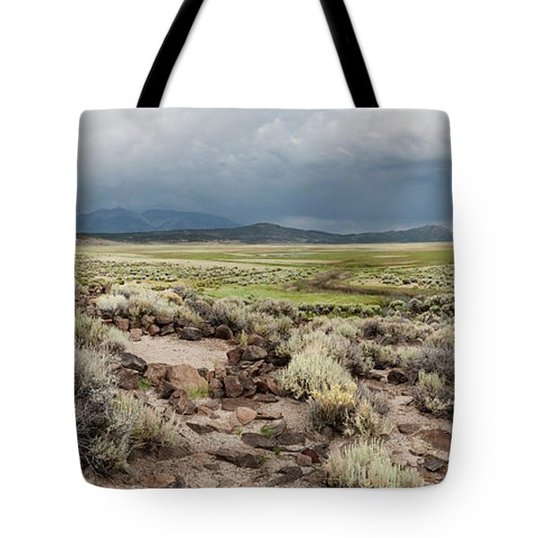 Tote Bag featuring the photograph Abandoned Homestead by Melany Sarafis