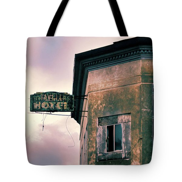 Tote Bag featuring the photograph Abandoned Hotel by Jill Battaglia