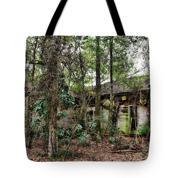 Abandoned House In Alabama Tote Bag