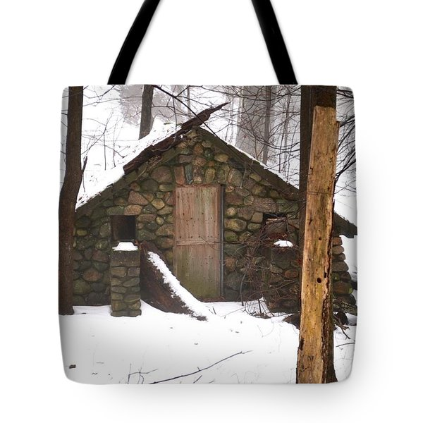 Abandoned In The Woods Tote Bag