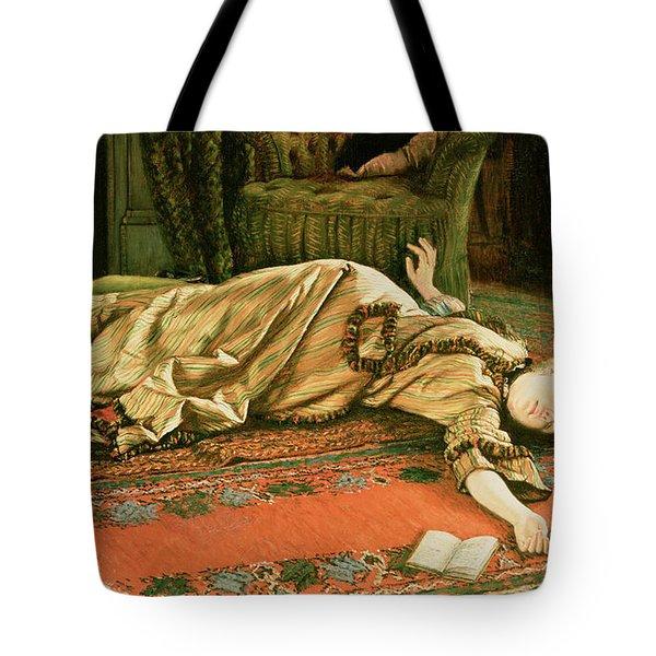 Abandoned Tote Bag by James Jacques Joseph Tissot