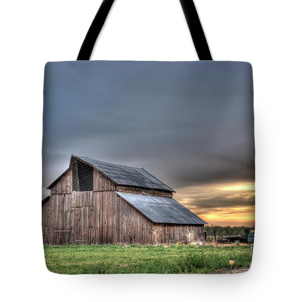 Tote Bag featuring the photograph Abandoned by Jim and Emily Bush