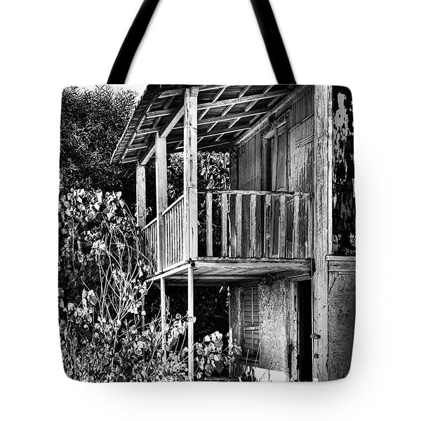 Abandoned, Kalamaki, Zakynthos Tote Bag by John Edwards