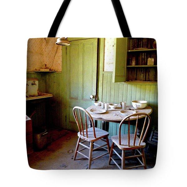 Abandoned Kitchen Tote Bag