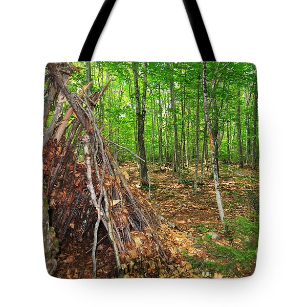 Abandoned Lean-to Tote Bag