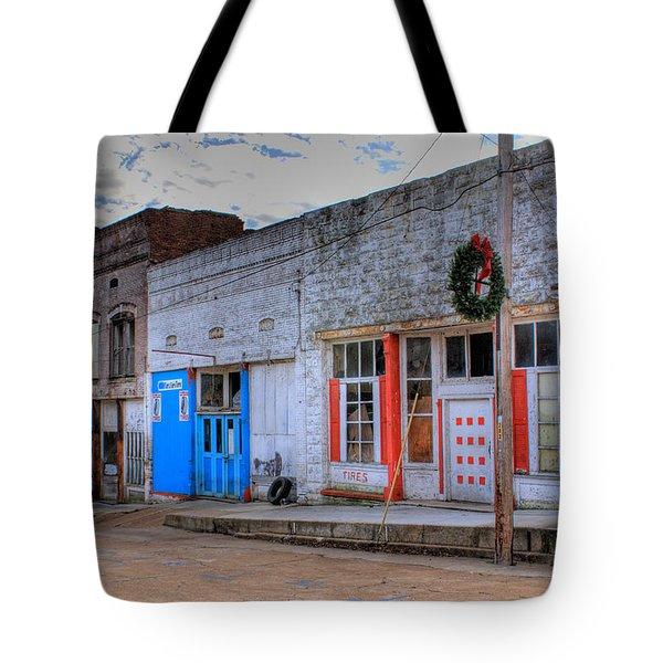 Abandoned Main Street Tote Bag