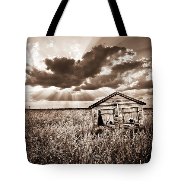 Abandoned Tote Bag by Meirion Matthias