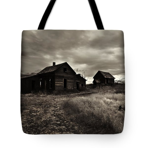 Abandoned Tote Bag by Mike  Dawson