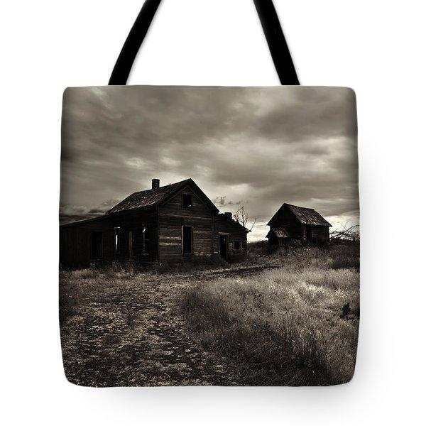 Abandoned Tote Bag