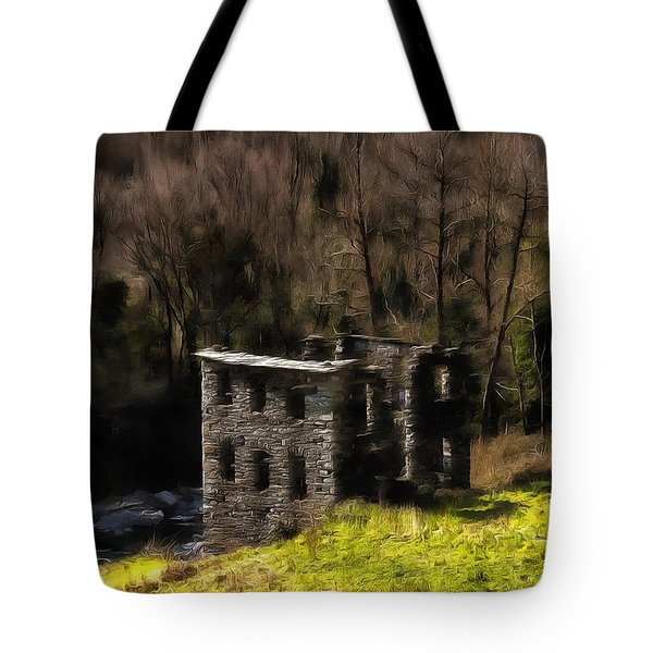 Abandoned Mill What Remains ... Tote Bag