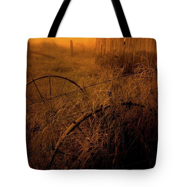 Abandoned Near Joyceville Road Tote Bag by Jim Vance