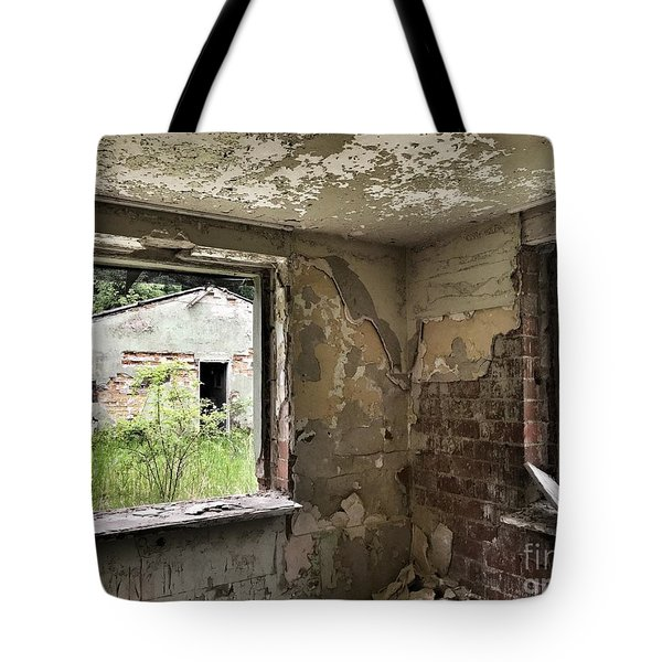 Abandoned Old Ammunition Depot Of The Belgian Army  Tote Bag