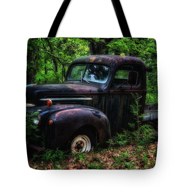 Abandoned - Old Ford Truck Tote Bag