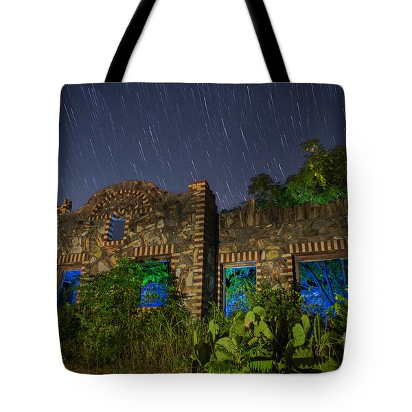 Tote Bag featuring the photograph Abandoned Outlaw Gas Station II by Keith Kapple