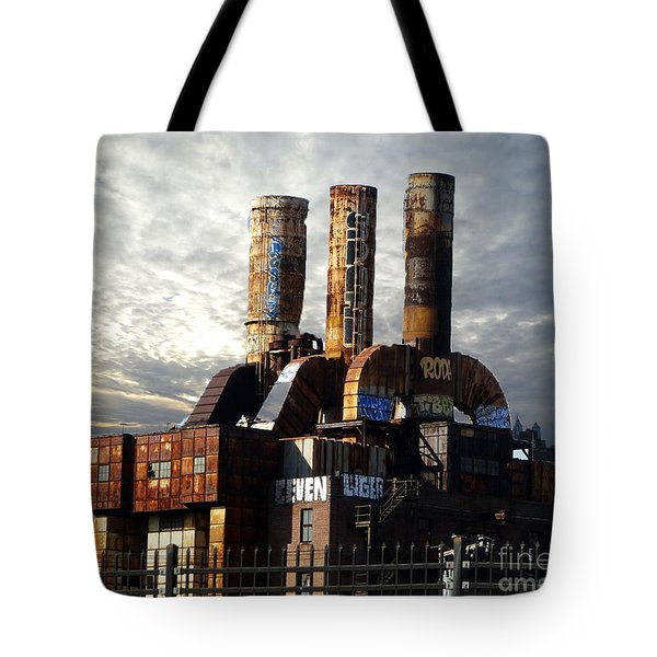 Abandoned Power Plant Tote Bag