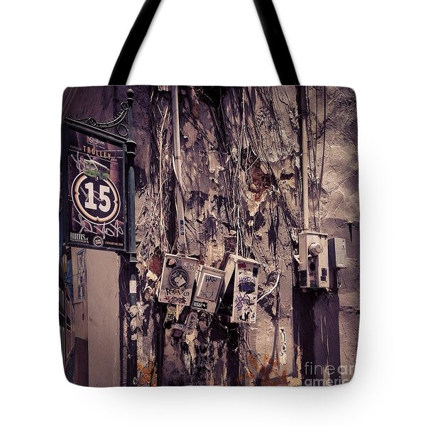 Abandoned Puerto Rico Tote Bag