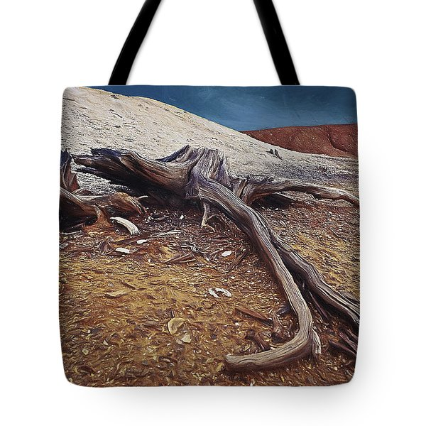 Tote Bag featuring the photograph Abandoned Quarry by Vladimir Kholostykh