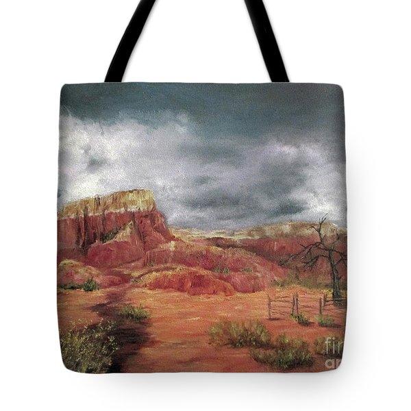 Abandoned  Ranch Tote Bag