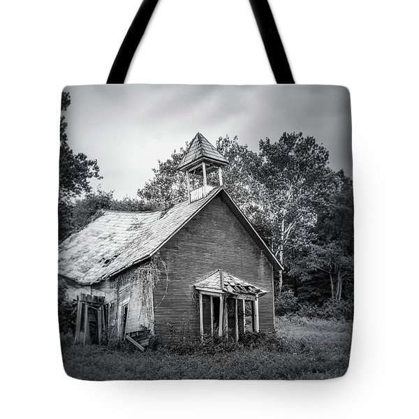 Abandoned Schoolhouse Tote Bag
