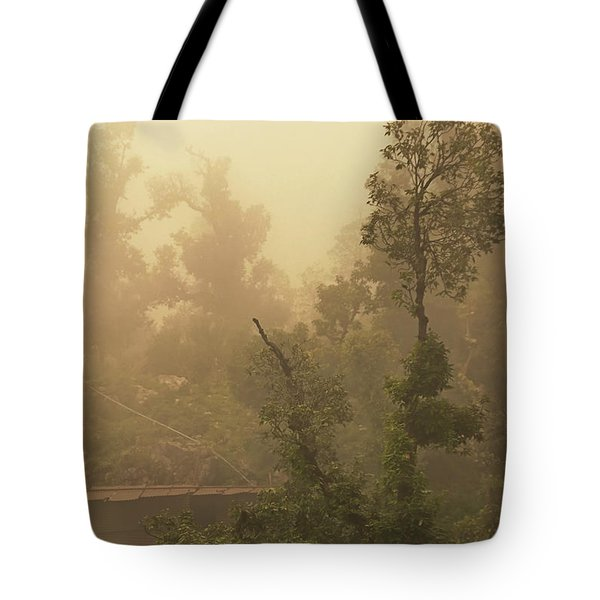 Abandoned Shed Tote Bag by Rajiv Chopra