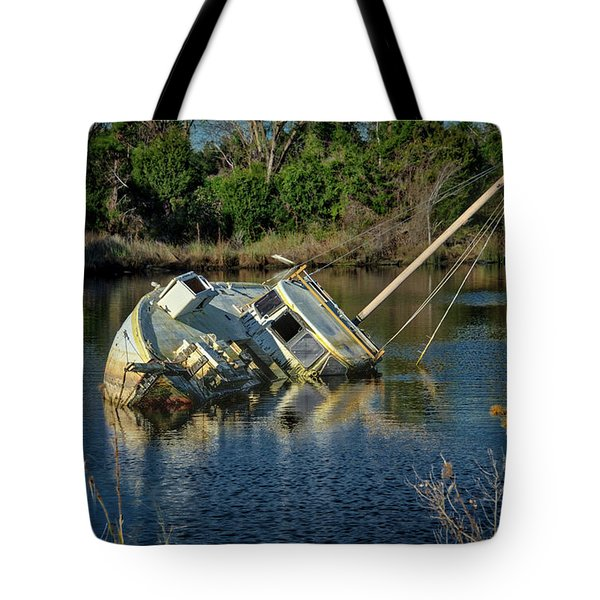 Abandoned Ship Tote Bag