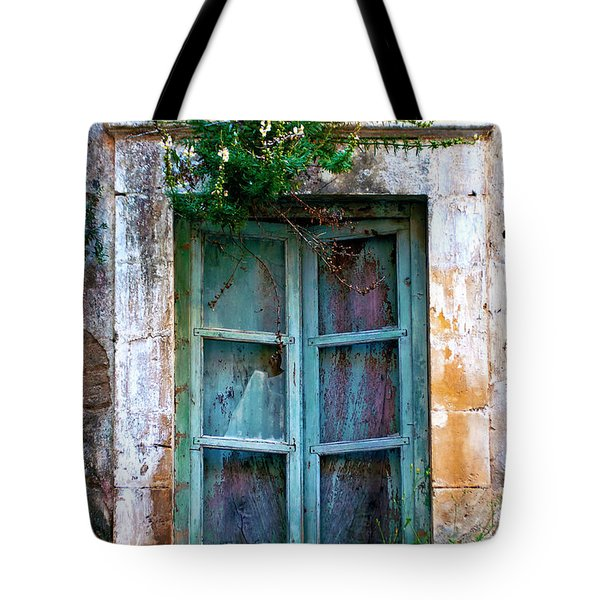 Tote Bag featuring the photograph Abandoned Sicilian Sound Of Noto by Silva Wischeropp
