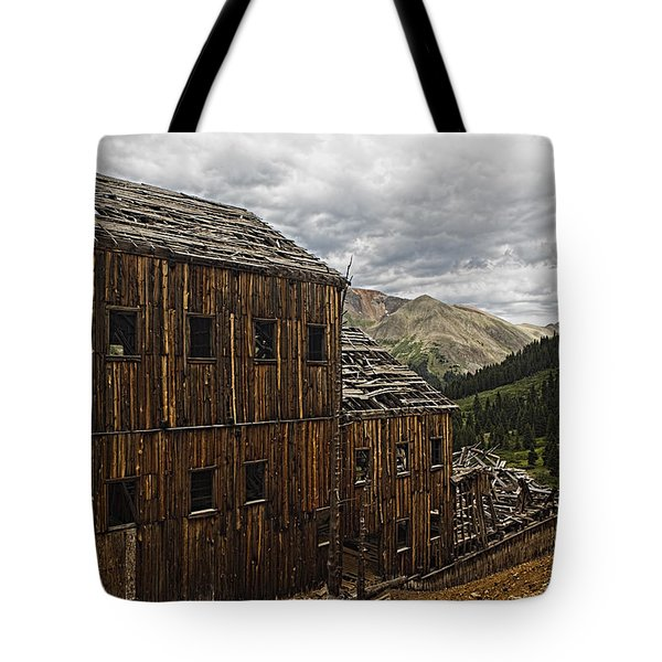 Abandoned Silver Mine Tote Bag