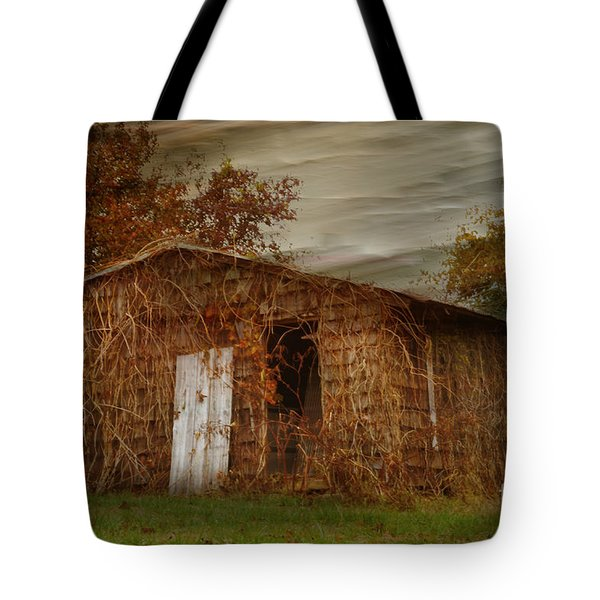 Abandoned Tote Bag by Tamera James
