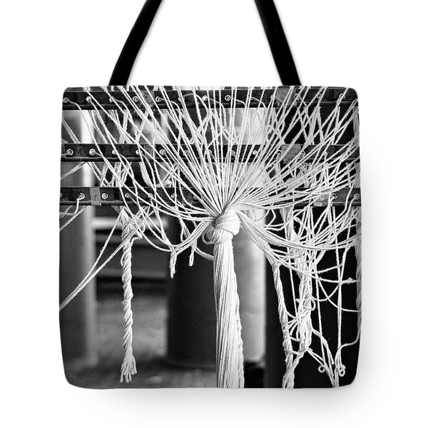 Abandoned Textile Mill, Lewiston, Maine  -48692-bw Tote Bag