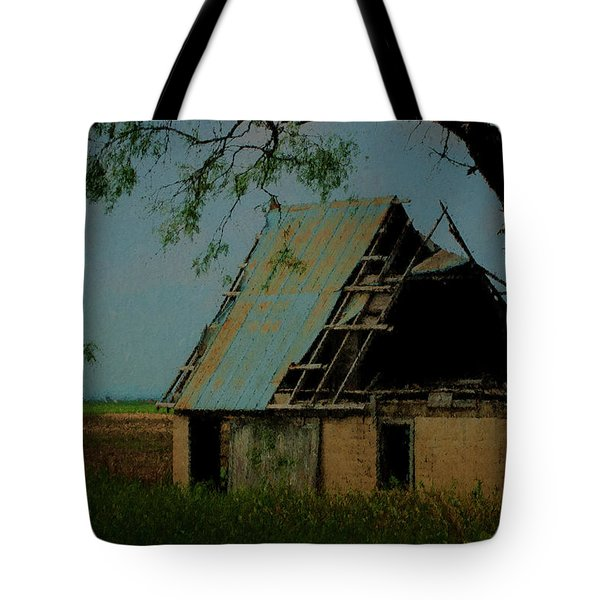 Abandoned Tote Bag by Travis Burgess