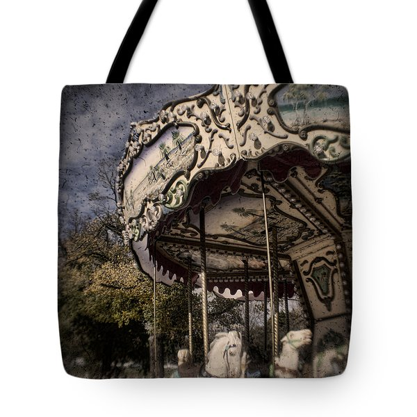 Abandoned Wonder Tote Bag by Andrew Paranavitana