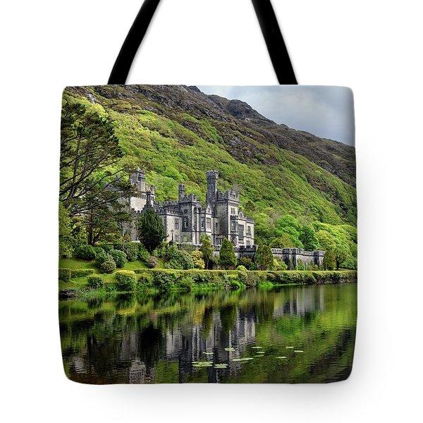 Abbey By The Lake Tote Bag