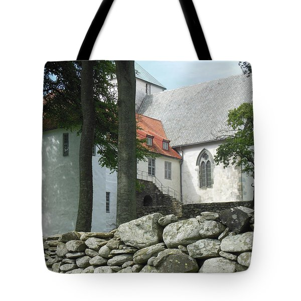 Abbey Exterior #2 Tote Bag