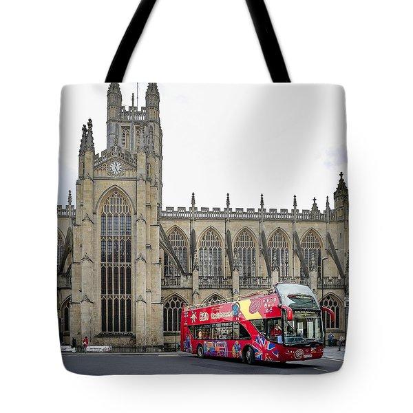Abbey In Bath, Uk Tote Bag
