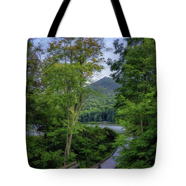 Abbott Lake Trail Tote Bag