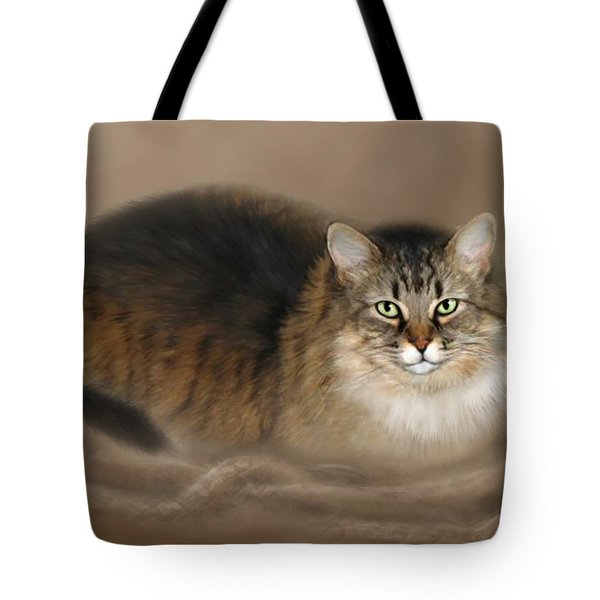 Abby Tote Bag by Barbara Hymer