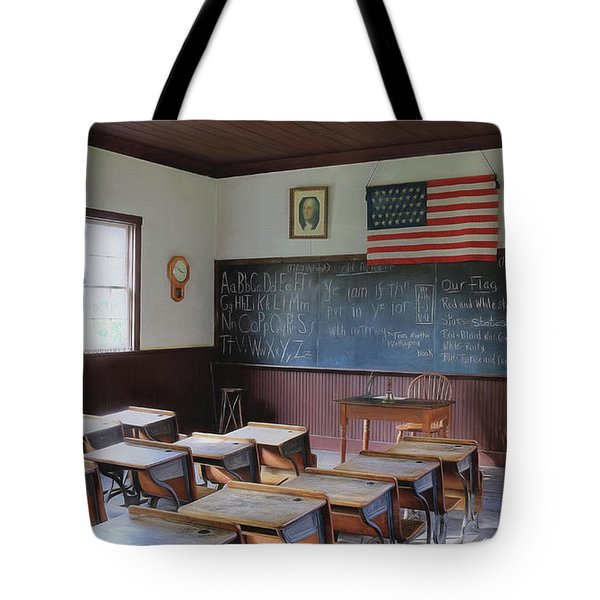 Abc's Of Learning Tote Bag by Sharon Batdorf