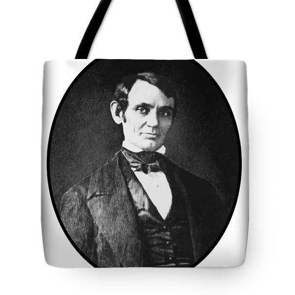 Abe Lincoln As A Young Man  Tote Bag