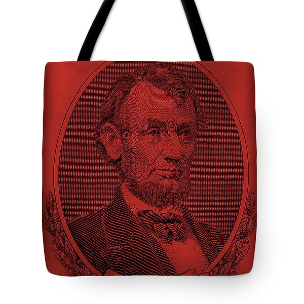 Tote Bag featuring the photograph Abe On The 5 Orange by Rob Hans